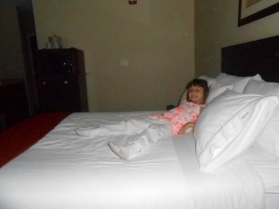 Holiday Inn Express South : comfy bed