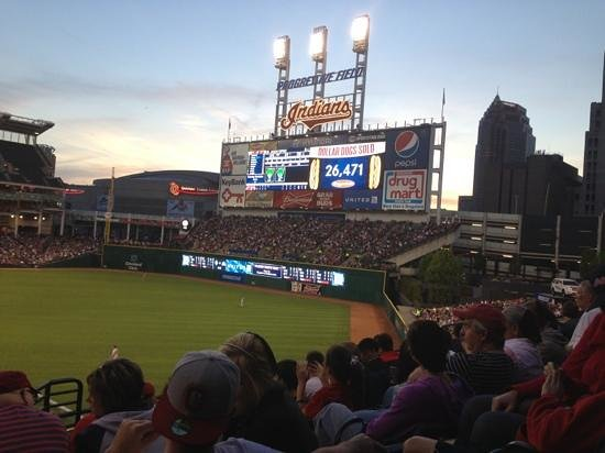 Progressive Field : Indians baseball
