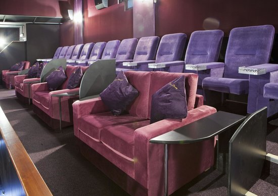 Luxury Seats And The Sofas Picture Of The Regal Cinema