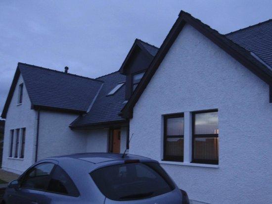 Caorunn House: Das Gebäude von außen