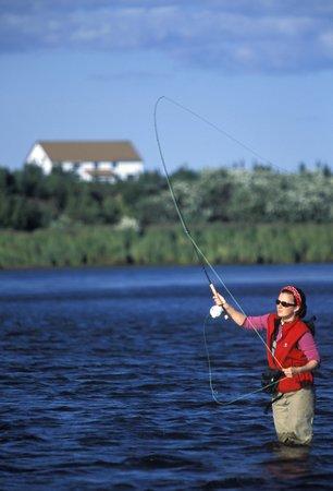 Alagnak Lodge: Fly fishing