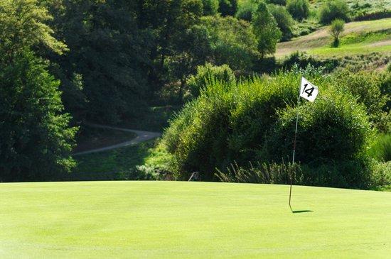 Golf De Saint Junien: Trous 14