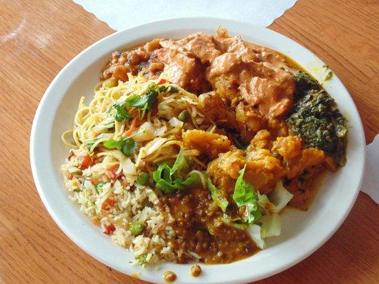 himalayan kitchen first trip to the buffet - Himalayan Kitchen