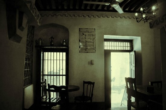 Stone Town Cafe: The entrance