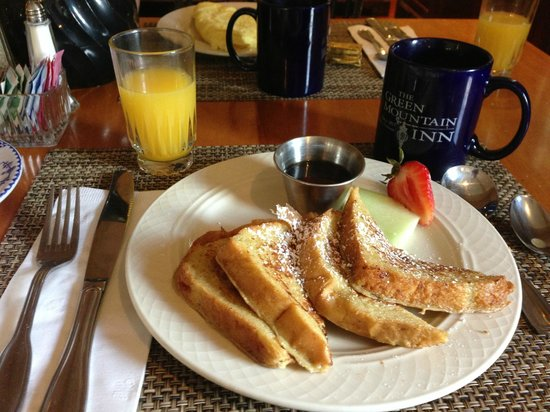 Green Mountain Inn : Delicious breakfast!