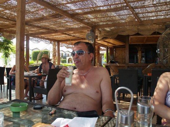 Ganet Sinai Hotel: Beach bar