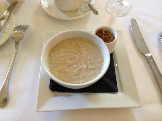 Raemoir House Hotel: Selbst das Porridge ist hier vom Feinsten