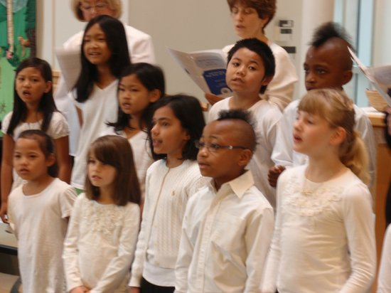 United Church of Chapel Hill : The diversity of our congregation is evident in our youth choir.