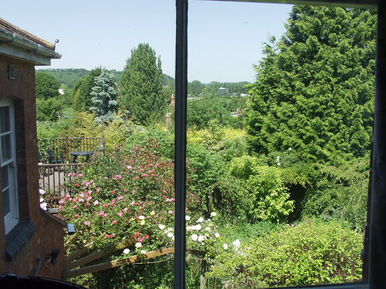 Leadon House Hotel: View from Room 2