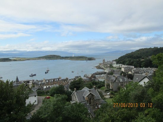 McCaig's Tower: The right view of Oban
