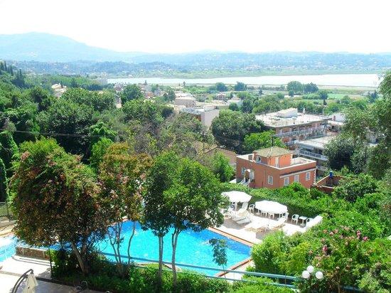 Divani Corfu Palace: Panorama dalla camera