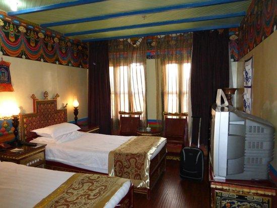 Dhood Gu Hotel : la nostra camera