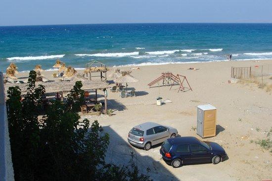 Aptera Beach: View from the balcony