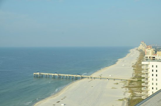 Turquoise Place: View of Gulf of Mexico from our room