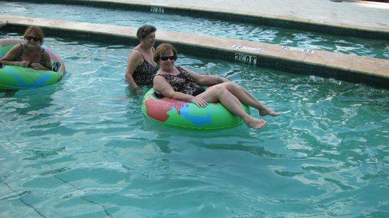 "Turquoise Place: Enjoying the ""lazy river"""