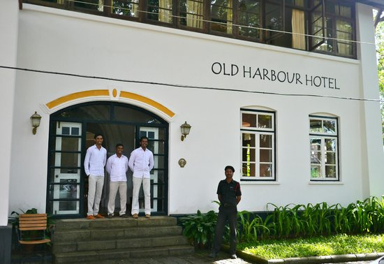 Old Harbour Hotel: The excellent staff at the Old Harbour