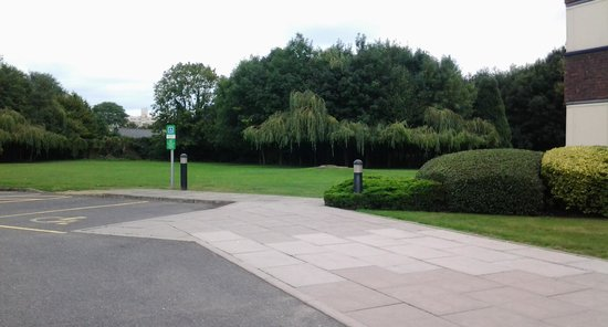 Holiday Inn London-Shepperton: just a small part of the hotel grounds.