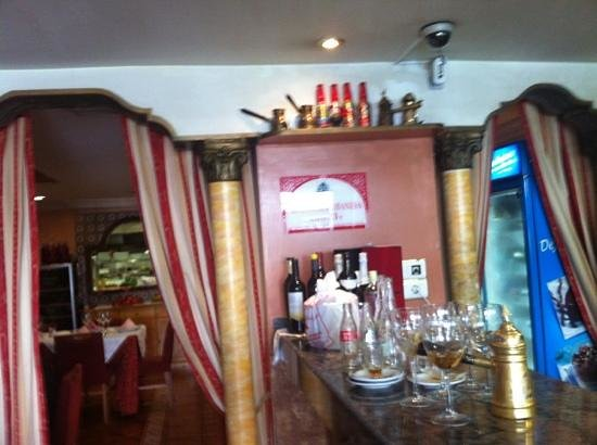 El Libano: Entrada al restaurante