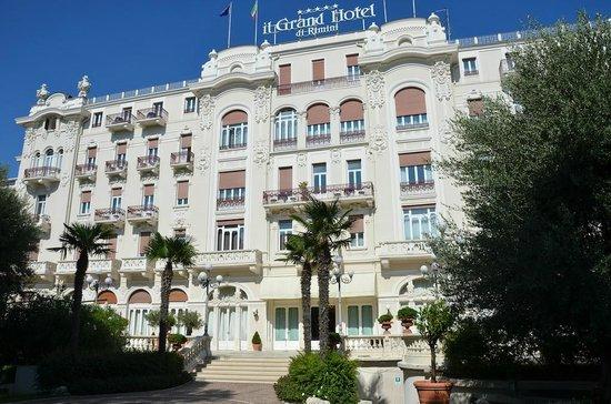 Grand Hotel Rimini: Facade