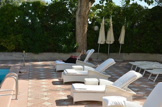 Grand Hotel Rimini: Pool area