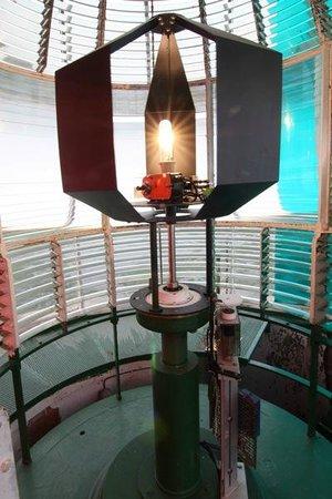 Phare de Cordouan : La lanterne s'allume
