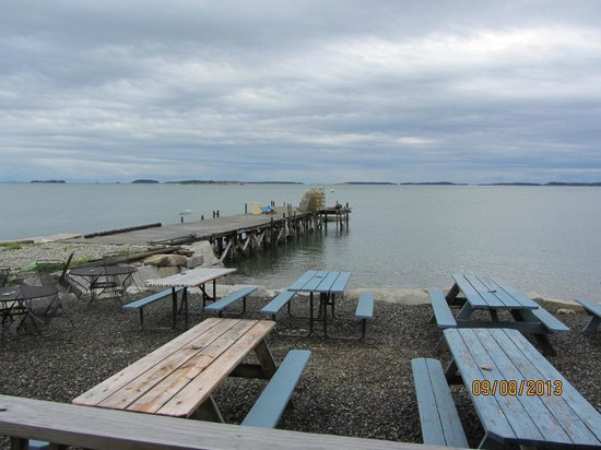 Waterman's Lobster Pound : WHAT A VIEW
