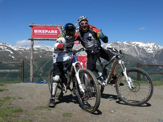 Guide Mountainbike Livigno: Downhill al Mottolino Fun Park