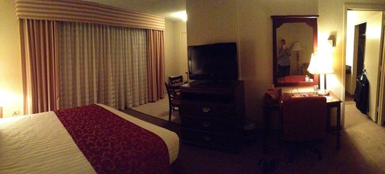 Regency Suites: Panoramic from the sofa.