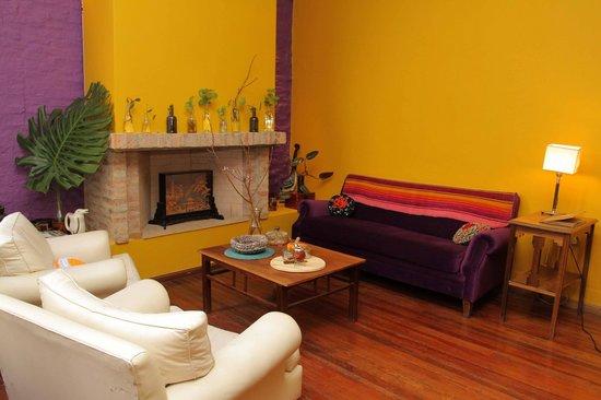 Solar Soler Bed & Breakfast: Sala de estar