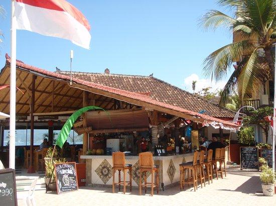 Bali Palms Resort : Pool bar