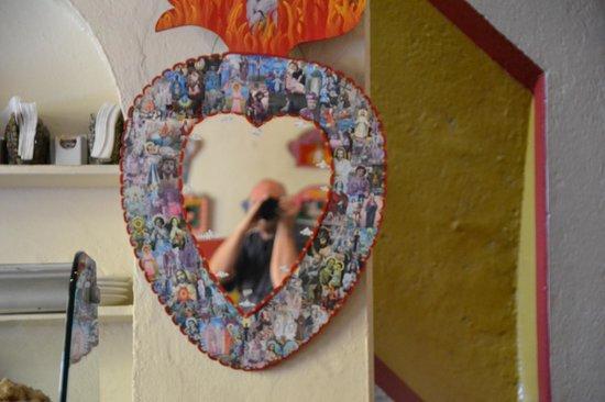El Pegaso: Self portrait in north dining room