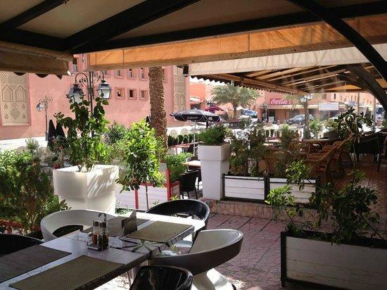 Habous: La terrasse