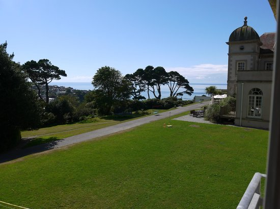 Fowey Hall: Room with a view