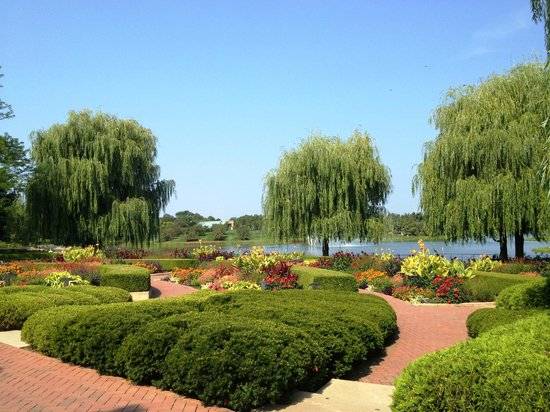 Chicago Botanic Garden: one of the first shots i took with my iphone.  just an overview