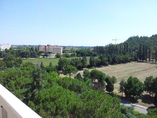 Apollo Hotel Terme: Una vista del parco dell'Hotel