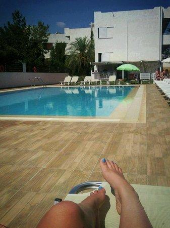 El Komi: by the pool