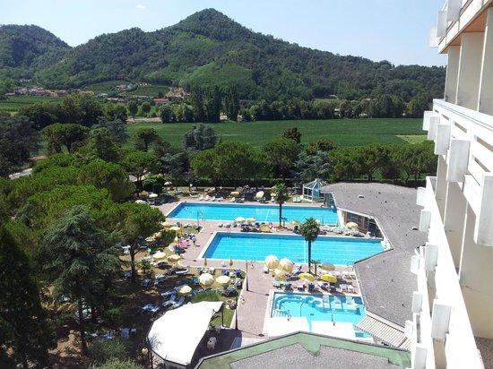 Apollo Hotel Terme: Due delle 5 piscine