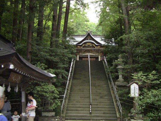 宝登山神社, この階段はたいしたことありません
