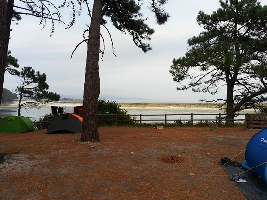 Camping Islas Cies: View from the tent
