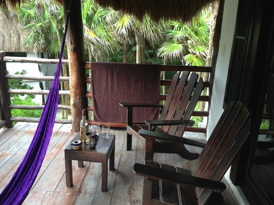 Playa Selva: Balcony area