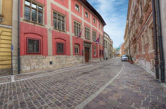 Ulica Kanonicza: Colorful houses in Kanonicza