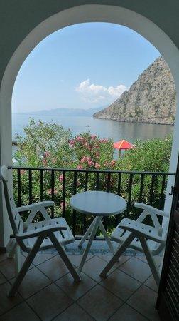 Hotel Gabbiano: Balcony view