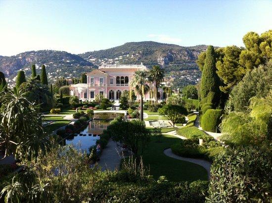 Gardens picture of villa jardins ephrussi de for Villa jardins ephrussi de rothschild
