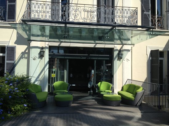 Villa Garbo: fachada