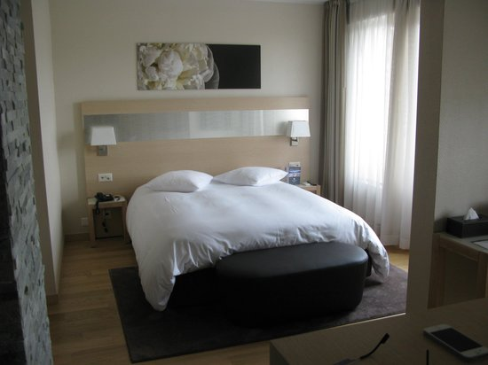 Starling Residence Geneve: la partie chambre