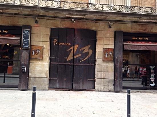 Princesa 23 - esterno