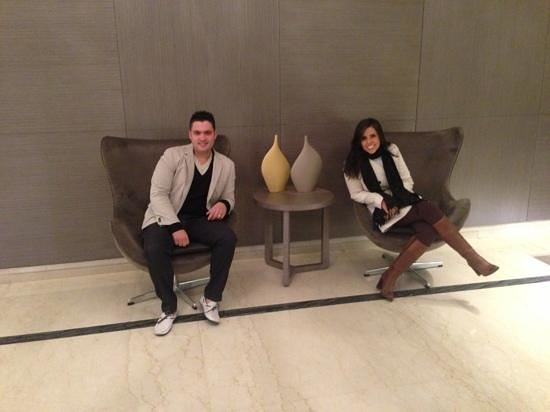 Recoleta Grand: lobby hotel