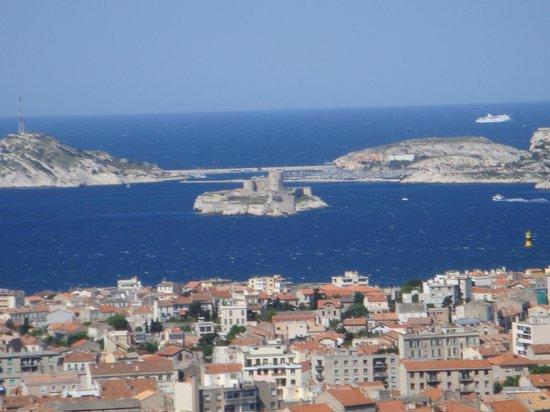 Ibis Budget Marseille l'Estaque: Vue sur les  îles (Marseille)