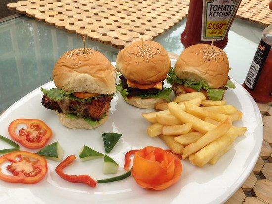 Tulip bistro: The best mini burgers in town