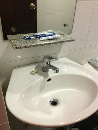 Express Inn: bathroom sink